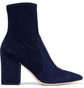 Navy Ankle Boots Shopstyle