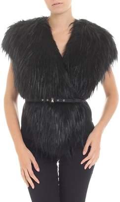 Patrizia Pepe Faux Fur Vest