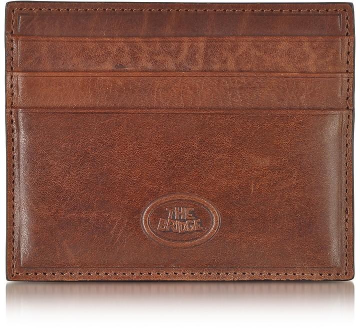 The Bridge Story Uomo Leather Credit Card Holder