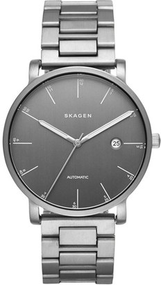 Skagen 'Hagen' Round Bracelet Watch, 40mm $445 thestylecure.com