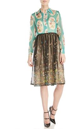 Manoush Floral Shirtdress