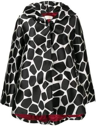 Sara Battaglia hooded rain coat