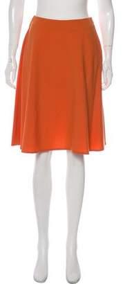 Valentino Flared Knee-Length Skirt