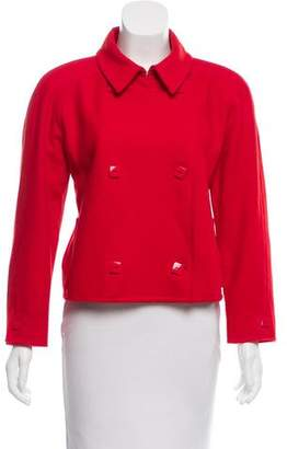Courreges Cropped Wool Jacket