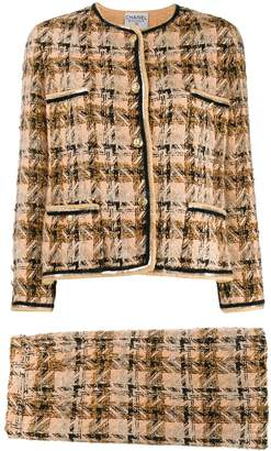 Chanel Pre-Owned 1990s tweed skirt suit