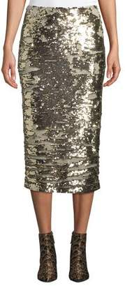 Lafayette 148 New York Casey Synergy Sequin Pencil Skirt