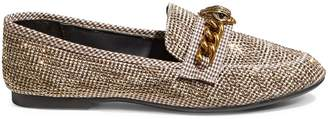 Kurt Geiger Carvela Women's Embellished Tweed Loafers