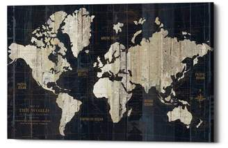 Williston Forge 'Old World Map' Graphic Art Print on Canvas
