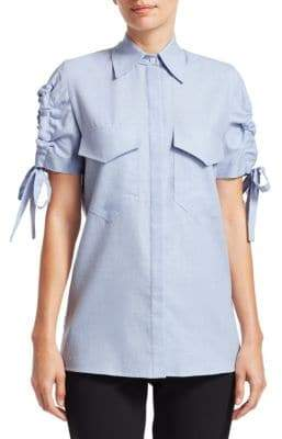 Victoria Beckham Victoria, Cutout Sleeve Shirt
