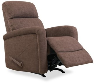 Homesvale Tucson Rocker Recliner Chair in Chocolate Chenille