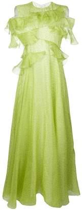 Maison Rabih Kayrouz ruffle trimmed gown
