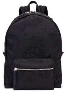 Alexander McQueen Camo Jacquard Backpack