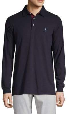 Tailorbyrd Long-Sleeve Teddy Polo