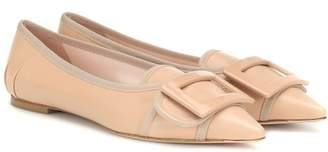 Roger Vivier Soft Gommettine leather ballet flats