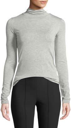 Vince Long-Sleeve Heathered Turtleneck Sweater