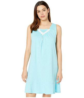 Carole Hochman Sleeveless Short Gown
