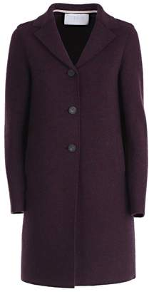 Harris Wharf London Single Breasted Flared Coat