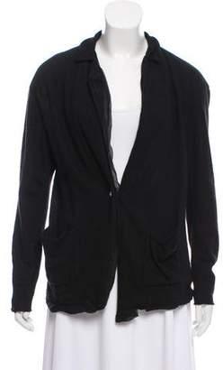 Lanvin Wool Button-Up Jacket