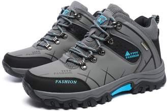 Gomnear Men's Hiking Boots High Top Trekking Shoes Non Slip Outdoor Warm Waterproof Walking Climbing Sneakers (11 US /46 EU, )