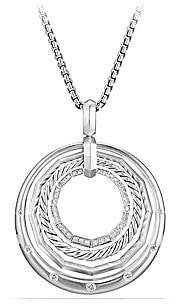 David Yurman Women's Stax Medium Pendant Necklace with Diamonds