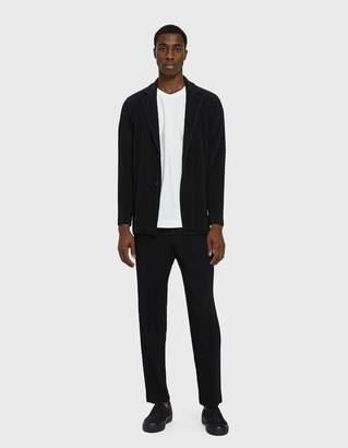 Issey Miyake Homme Plissé Basic Blazer in Black