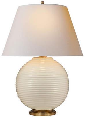 Visual Comfort & Co. Hugo Table Lamp - Ivory Porcelain