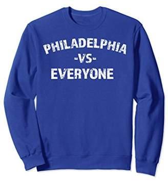 Victoria's Secret Philadelphia Everyone Trendy Distressed Sweatshirt
