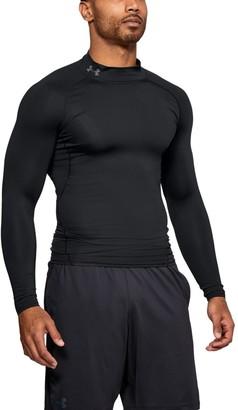 Under Armour Men's HeatGear Armour Compression Long Sleeve Mock