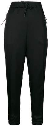 Prada drawstring slim-fit trousers