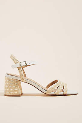 Anthropologie Samantha Espadrille-Heeled Sandals