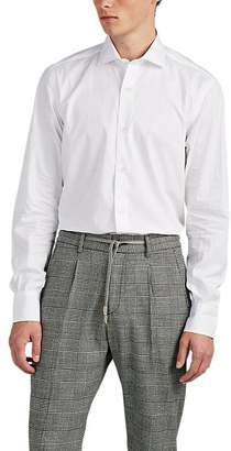 Eleventy Men's Cotton Poplin Shirt