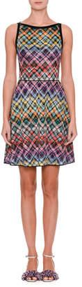 Missoni Sleeveless Flared Zigzag Dress