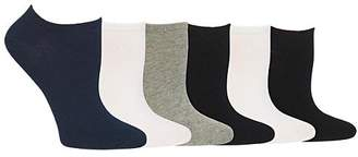 Hot Sox Low-Cut Socks 6-Pack