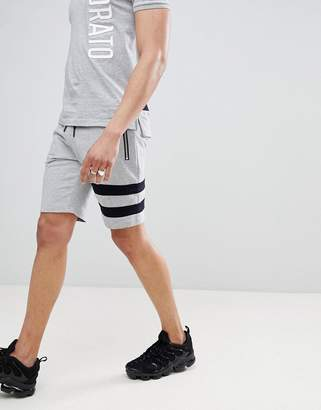 Antony Morato Jersey Short With Stripe Leg