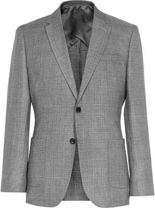 Reiss Campbell - Wool And Linen Blazer in Light Grey