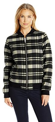 Columbia Women's Alpine Plaid Bomber $38.55 thestylecure.com