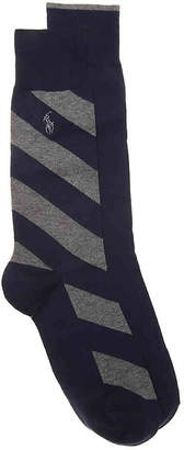 Polo Ralph Lauren Diagonal Crew Socks - 2 Pack - Men's