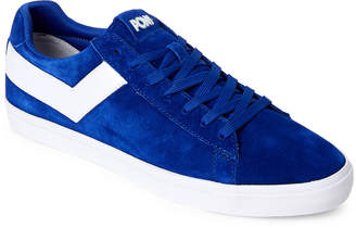 Pony (Product Of New York) Royal & White Topstar Low Core Suede Sneakers