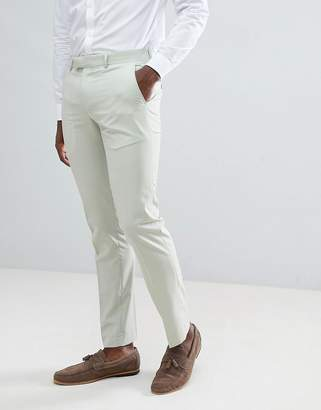 Farah Smart Skinny Suit Pants In Green