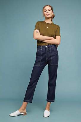3x1 Sabine Ultra High-Rise Tapered Chino Pants