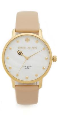 Kate Spade New York Metro Watch $195 thestylecure.com