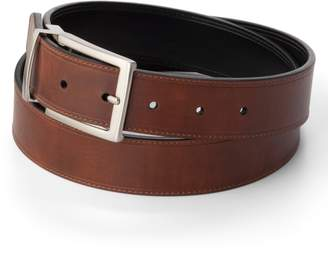 Croft & Barrow Men's Soft Touch Stitched Reversible Belt