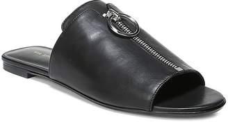 Via Spiga Women's Hope Leather Slide Sandals