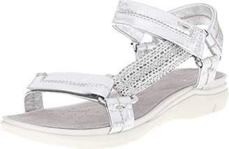 Geox Women's D Sukie Flat Sandal