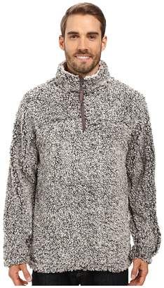 True Grit Frosty Tipped Pile 1/4 Zip Pullover Men's Long Sleeve Pullover