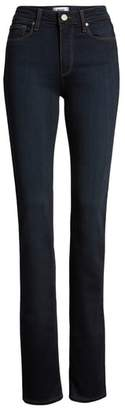 Paige Transcend - Hoxton High Waist Straight Jeans