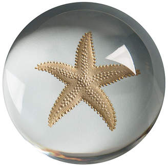 Crane & Co. Engraved Starfish Paperweight