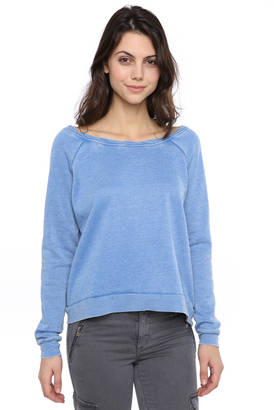The Laundry Room Cozy Crew Neck Sweatshirt $98 thestylecure.com