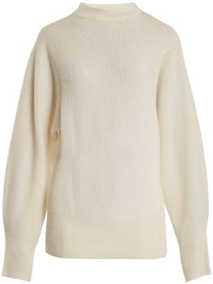 The Row Nyx ribbed-knit cashmere sweater