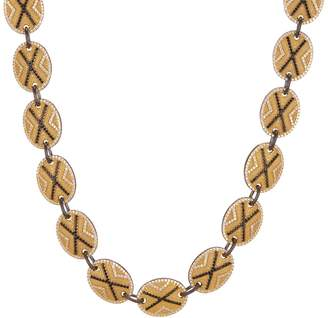 Freida Rothman Pave Crystal Collar Necklace